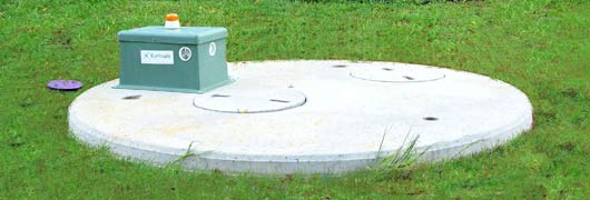 Earthsafe Aerated wastewater system